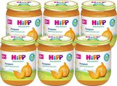 HiPP BIO maaltijd vanaf 4 maanden - Pompoen - 6 stuks 125gr