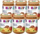 HiPP BIO maaltijd vanaf 15 maanden - Spaghetti Bolognese - 6 stuks 250gr