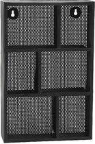 PTMD Kast Wynn zwart 26x9,5x40 cm