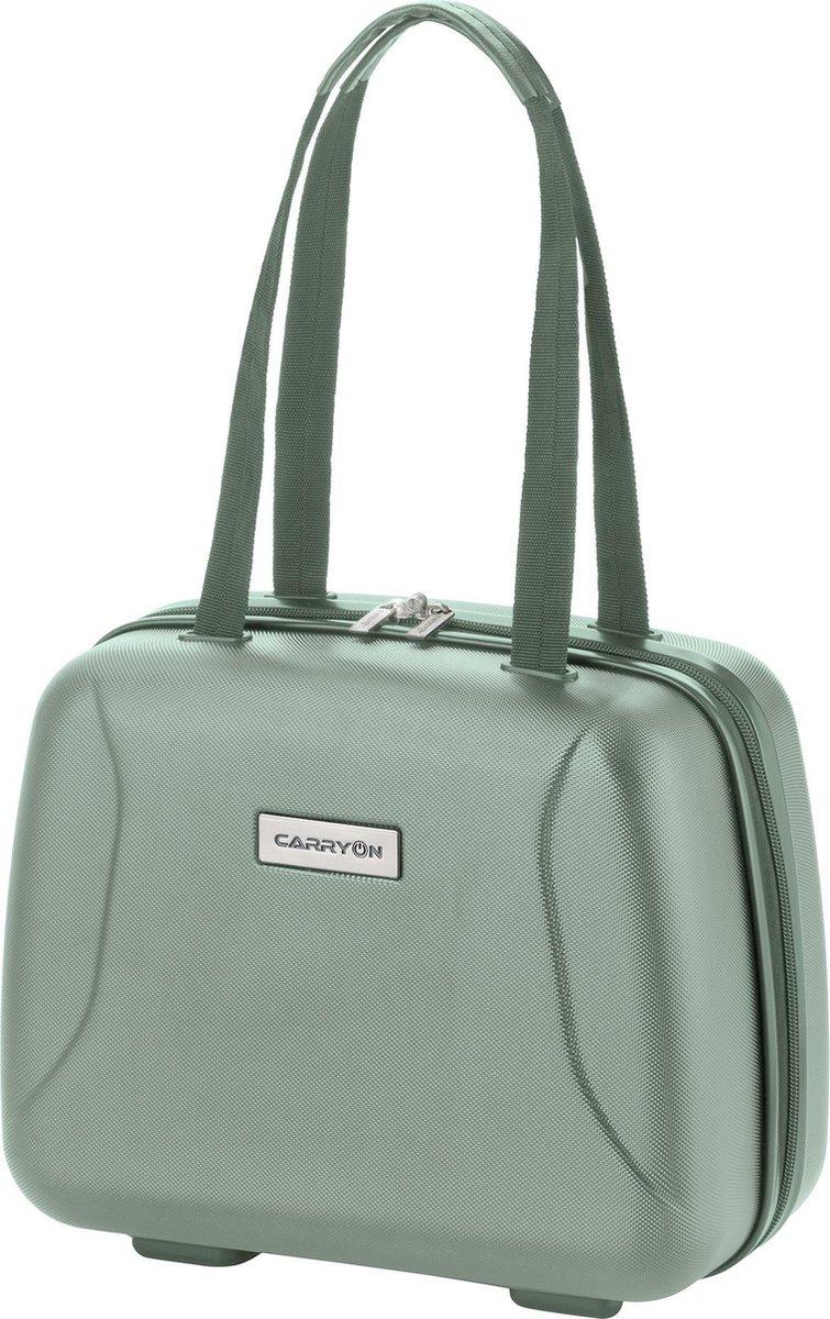 CarryOn  Skyhopper  Beautycase  Make-up Koffer   Luxe Toilettas Dames   Met cijferslot   Maat: 33,5