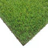 Kunstgras Tapijt DENVER groen - 150x230cm - 25mm|artificial grass|gazon artificiel|groen|tuin|balkon|terras|grastapijt|gras mat
