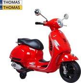 Vespa GTS kinderscooter rood
