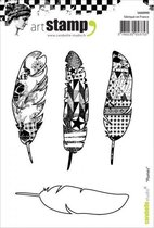 Carabelle Studio • cling stamp A6 plumes