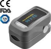Oximeter professioneel WBTT® - Saturatiemeter - FDA en TÜV goedgekeurd - Zuurstofmeter - Hartslagmeter - Oxi meter