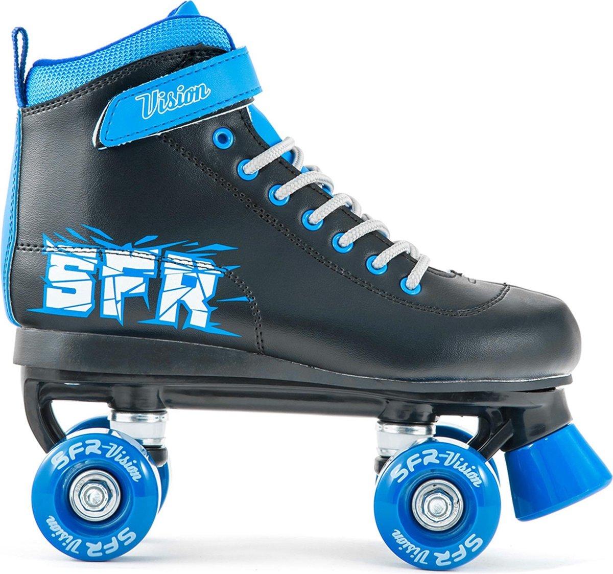 SFR Rolschaatsen - Maat 39.5Kinderen - zwart/ blauw