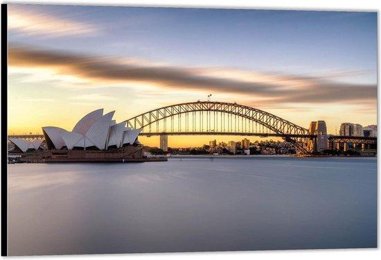Dibond –Royal Botanic Gardens - Sydney – 40x30 Foto op Aluminium (Wanddecoratie van metaal)