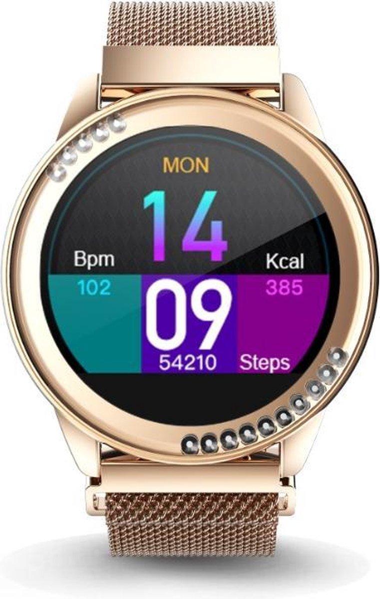 Belesy®  - HB19  - Smartwatch - Goud kopen