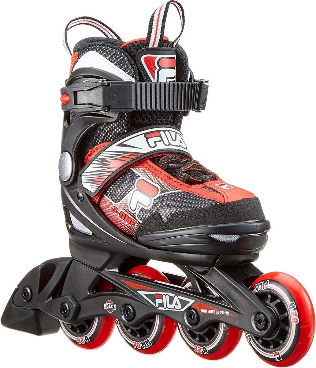 Fila Inlineskates - Maat 36-40 - Unisex - Zwart/ rood/ wit