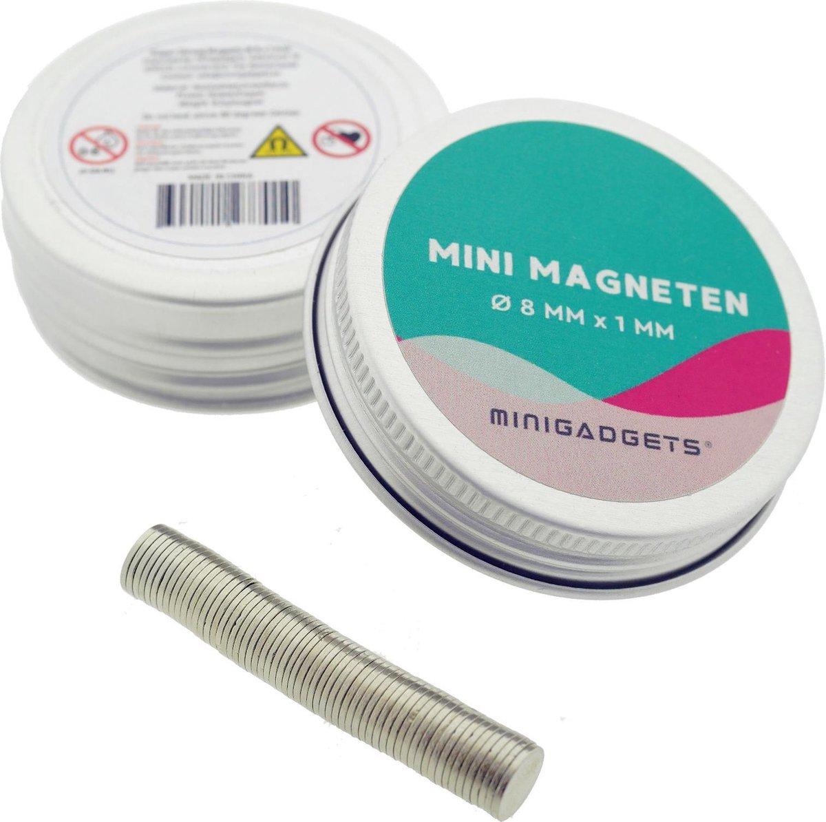 Verbazingwekkend bol.com | Super sterke magneten - 8 x 1 mm (25-stuks) DS-23