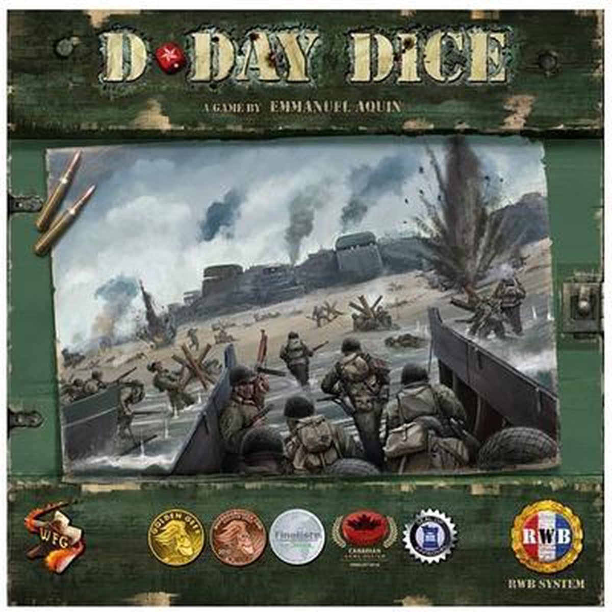 D-Day Dice (2nd Edition, Boxed Game)