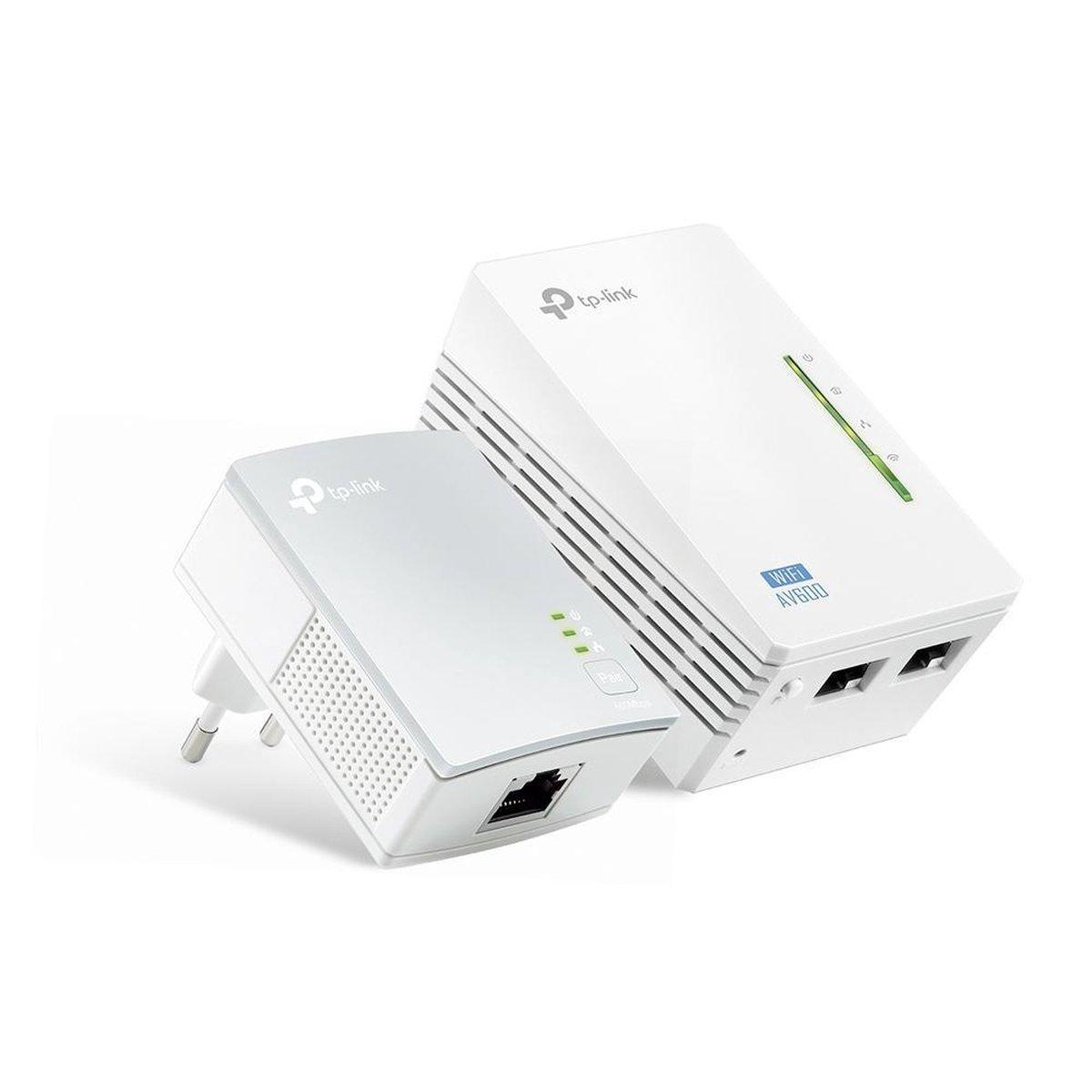 TP-Link TL-WPA4220 KIT - AV600 - Wifi Powerline - 2 Stuks