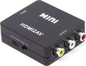 LOUZIR  HDMI naar Tulp Composiet AV converter / zwart