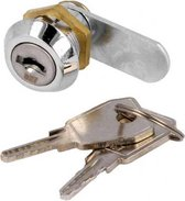 Locker slot - Kantelslot - 15mm - gelijke sleutels - 827