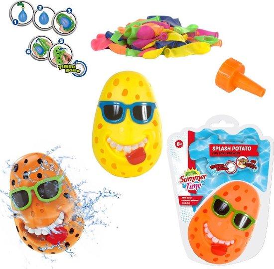 Summertime Splash Potato + 50 Ballonnen Groen
