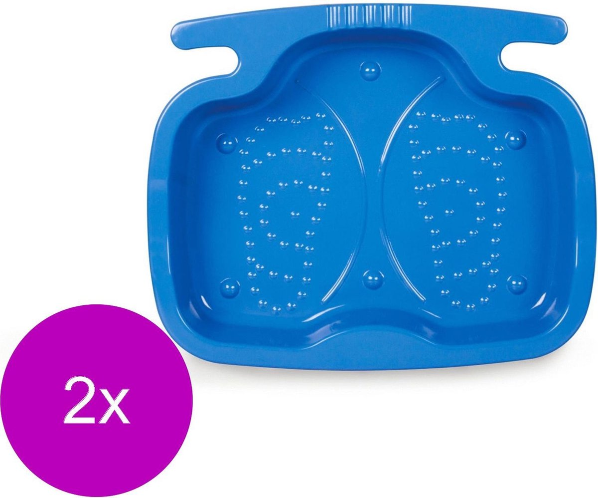 Intex Voetbad Tbv Zwembad - Grondzeilen - 2 x 56x46x9 cm Blauw