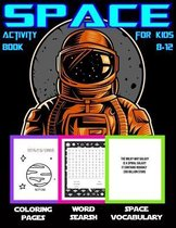 Space Activity Book For Kids 8-12