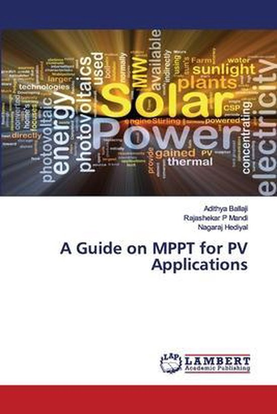A Guide on MPPT for PV Applications