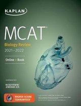 Boek cover MCAT Biology Review 2021-2022 van Kaplan Test Prep