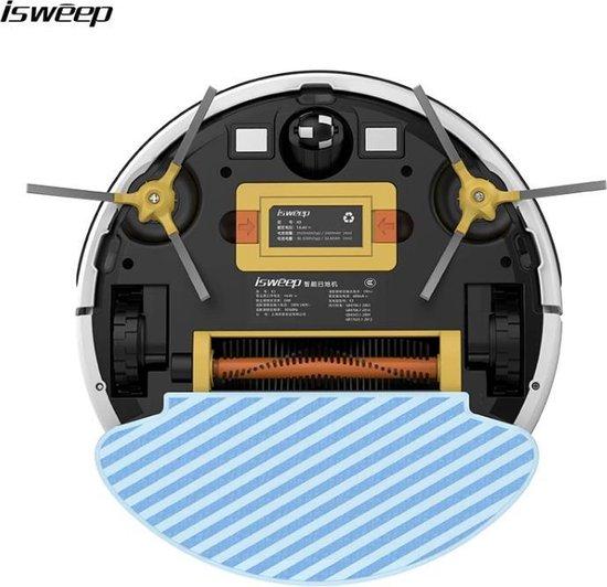 ISWEEP - X3 Robotstofzuiger | Met laadstation en dweilfunctie