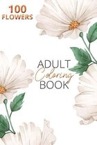 Adult Flower Coloring Book
