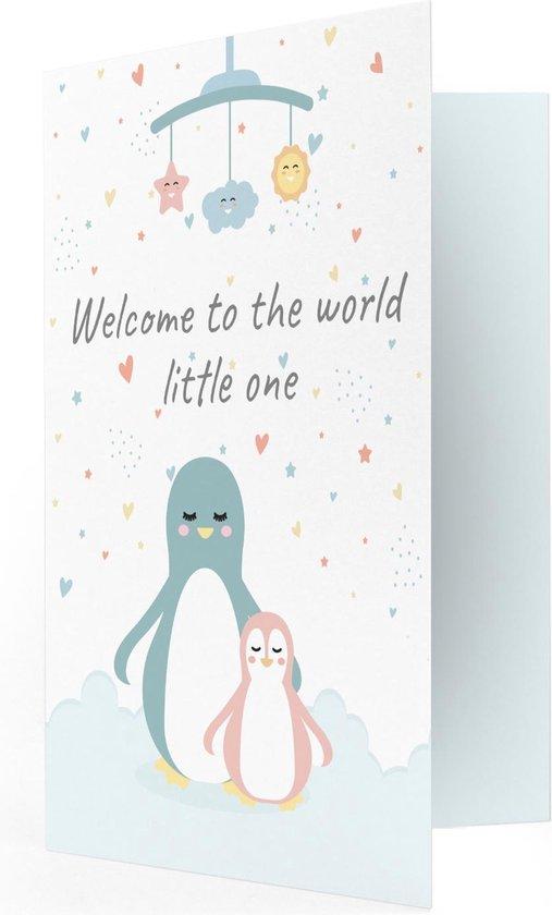 Geboorte Welcome to the World Muziekkaart - Locomix