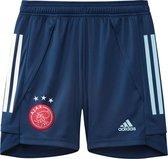 adidas Sportbroek - Maat 140  - Jongens - donkerblauw/blauw/wit