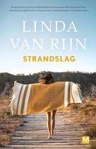 Boek cover Strandslag van Linda van Rijn (Onbekend)