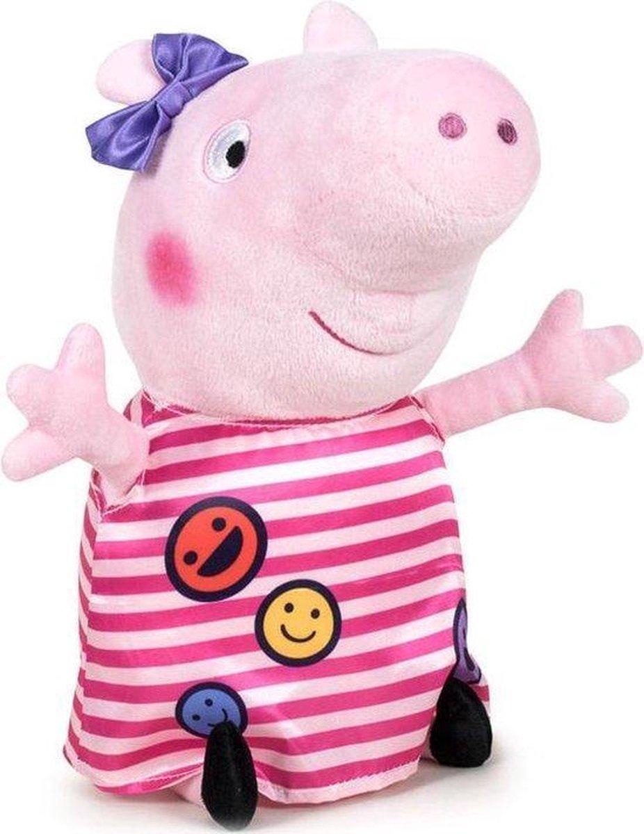 Peppa Pig Smiley Pluche Knuffel 20cm