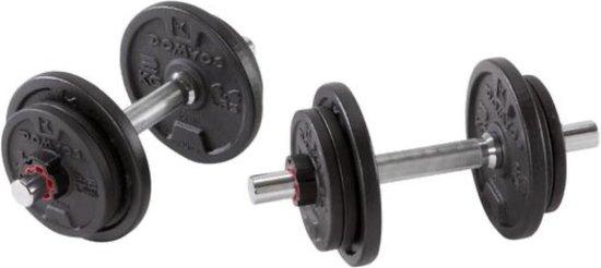 Dumbbell Set - 2 stuks - Halterset - Gewichten - 20kg gewichten - Professionele gewichten set - fitness - 2 halters - fitness - gewichtenset - sport -
