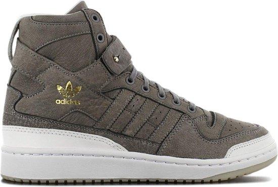 adidas Originals Forum High - Crafted - Premium Leer - Heren Sneakers Sportschoenen Schoenen Bruin BW1253 - Maat EU 42 2/3 UK 8.5
