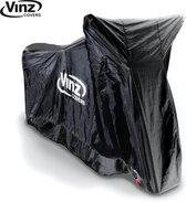 Vinz Motorhoes / Scooterhoes - 4 maten (Zwart)-Large
