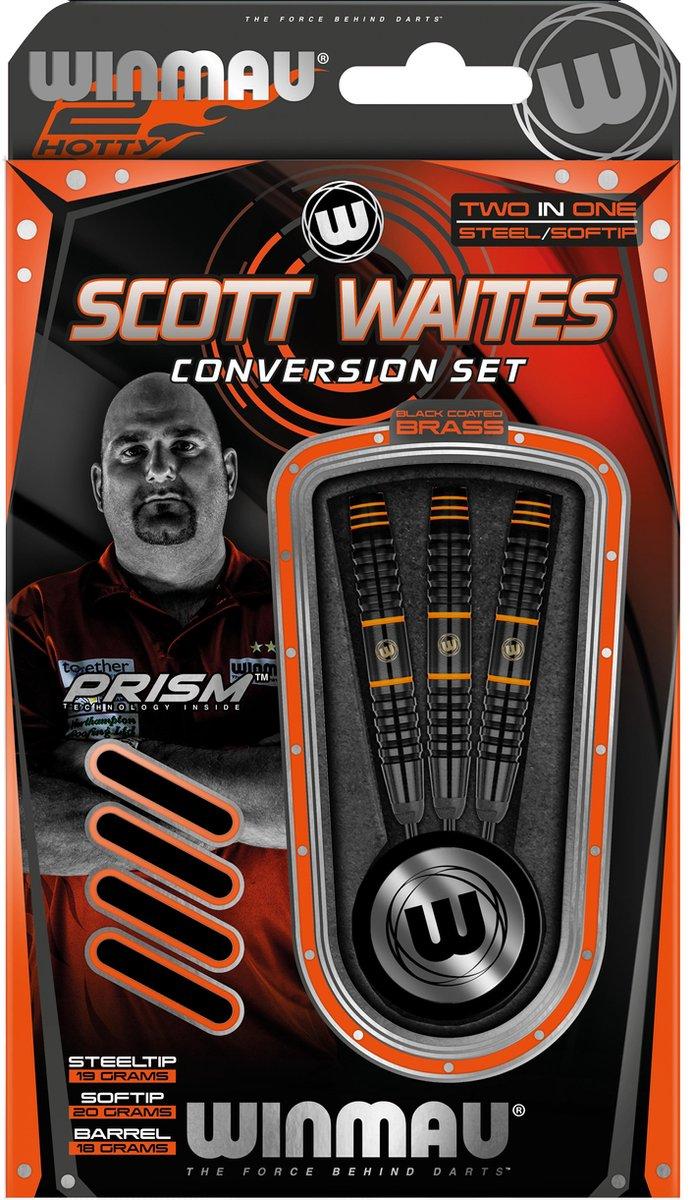 Winmau Scott Waites conversion set - Steel en Softtip darts in één