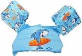 OhmyGoods Puddle Jumper - Blauw - Haai - Zwemvest - Zwembandjes - voor in het Zwembad