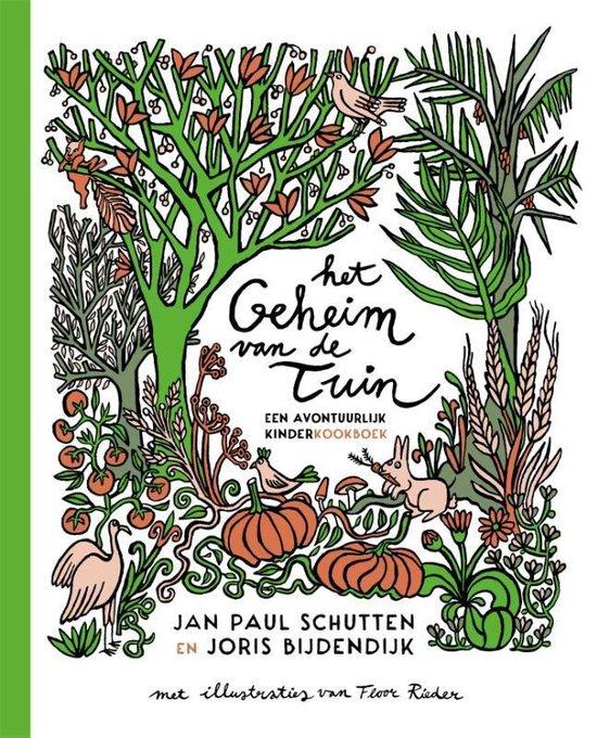 Boek cover Het geheim van de tuin van Jan Paul Schutten (Hardcover)
