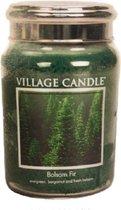 Village Candle - Balsam Fir - Large Candle - 170 Branduren - Groen