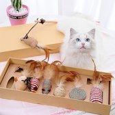 GIZMO Kattenspeeltjes Set - 7 Speeltjes - Interact