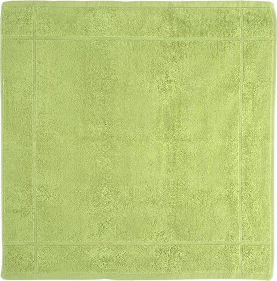 Clarysse Keukendoek Groen 50x50cm 6 stuks