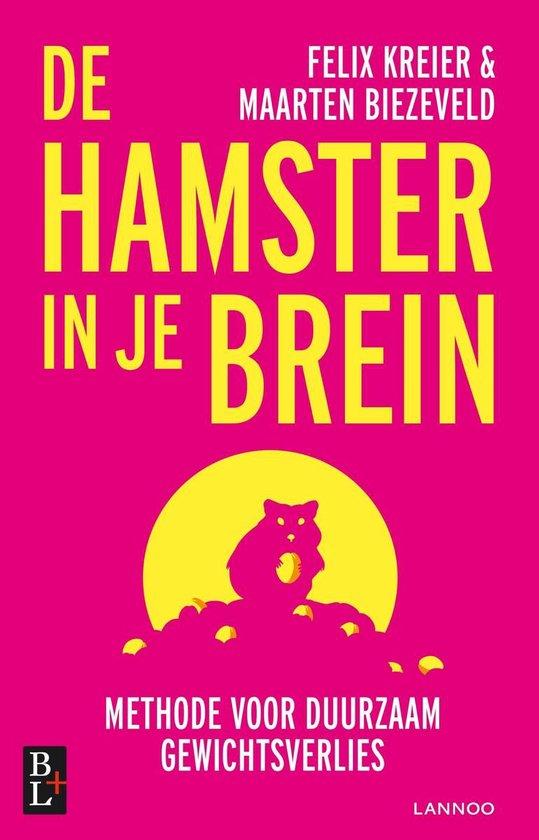 Boek cover De hamster in je brein van Maarten Biezeveld (Onbekend)