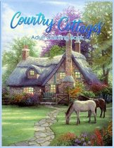 Country Cottages Coloring Book