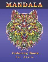 COLORING BOOK FOR ADULTS MANDALA stress relieving designs