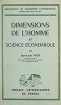 Dimensions de l'homme et science économique