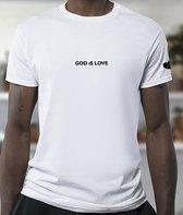 God is love ORGANIC T-SHIRT Unisex T-shirt