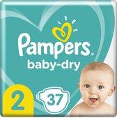 Pampers Baby Dry maat 2 mini (3-6kg) 37 stuks