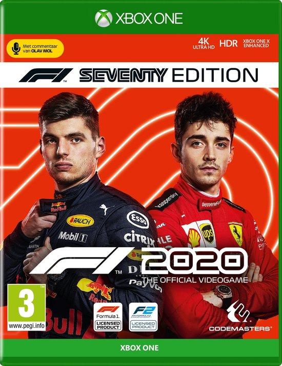 Cover van de game F1 2020 - F1 Seventy Edition - Xbox One