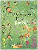 Activities book for kids