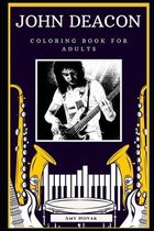 John Deacon Coloring Book for Adults