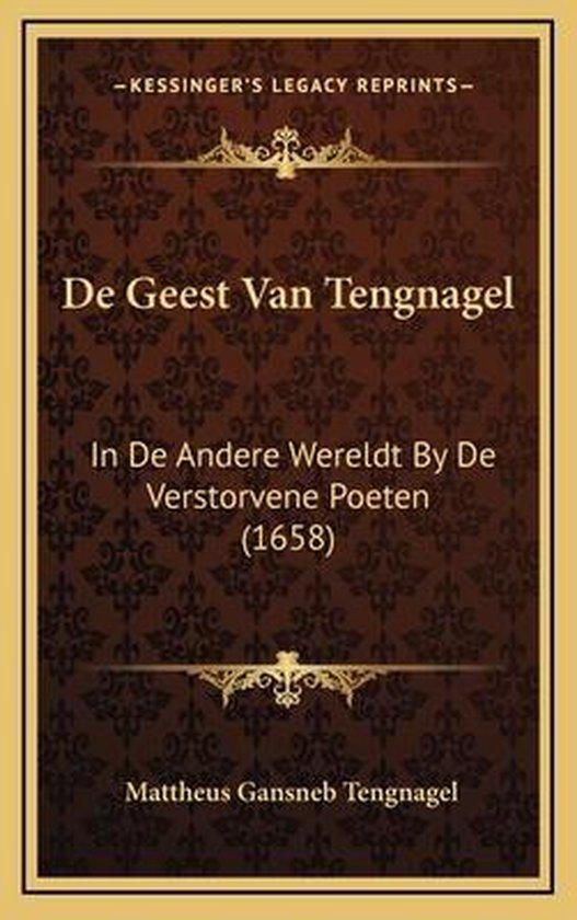 De geest van tengnagel - Mattheus Gansneb Tengnagel  