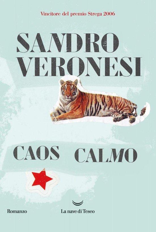 Boek cover Caos calmo van Sandro Veronesi (Onbekend)