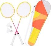Sunnylife Badminton Set - Twee Rackets, Tas en Shuttles