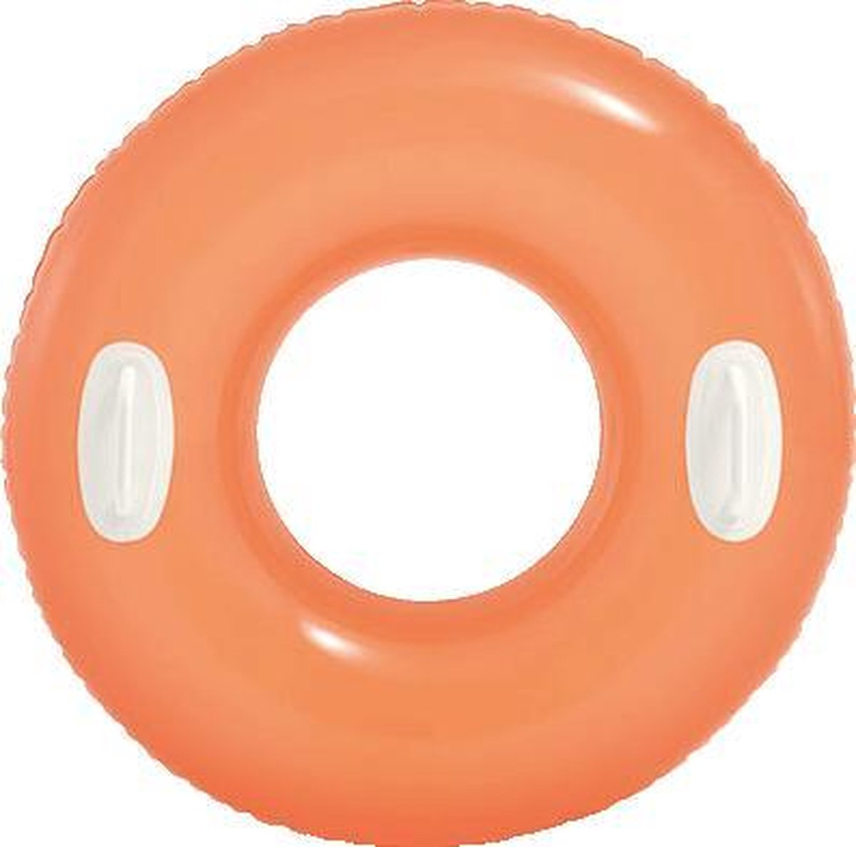 Opblaas zwemband Basic 76 cm - oranje